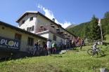 All'Alpe Furggu baciati dal sole e dal vento