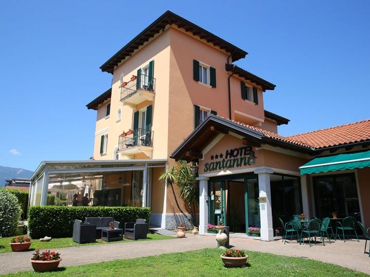 Hotel Santanna Verbania esterno